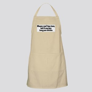 kung pao chicken (money) BBQ Apron