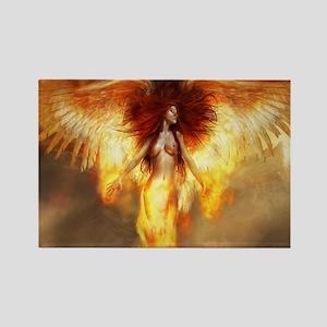 Beautiful Fire Angel Magnets