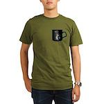 Cup of Linux Organic Men's T-Shirt (dark)