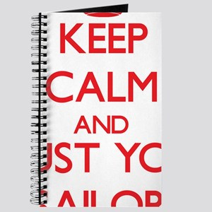 Keep Calm and trust your Sailor Journal