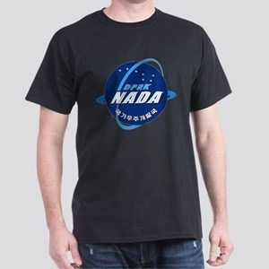 N Korea Space Agency Dark T-Shirt