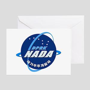 N Korea Space Agency Greeting Cards (Pk of 10)