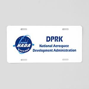 N Korea Space Agency Aluminum License Plate