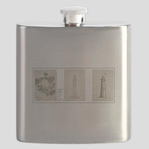 Minot's Ledge Light Flask