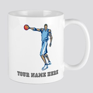 Custom Tall Basketball Player Mugs