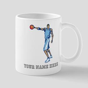 Custom Tall Basketball Player Mugs