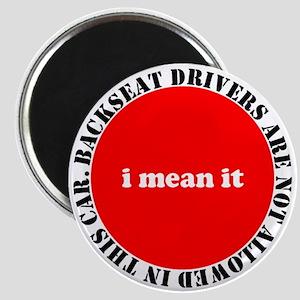 Backseat Driver Magnets
