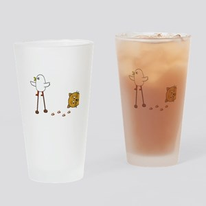 Cat Stilts Drinking Glass