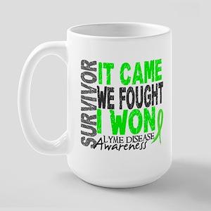 Lyme Disease Survivor 2 Large Mug