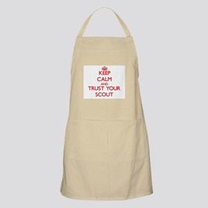 Keep Calm and trust your Scout Apron