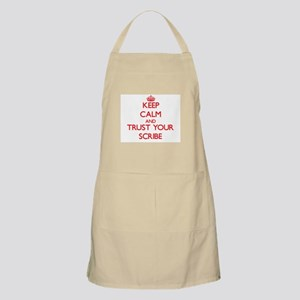 Keep Calm and trust your Scribe Apron