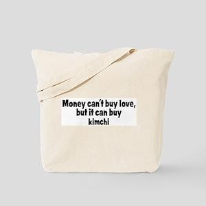 kimchi (money) Tote Bag