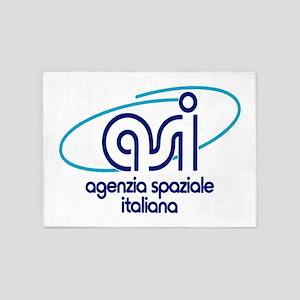 ASI - Italian Space Agency 5'x7'Area Rug