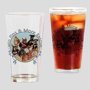 MPMR Flourish Logo Drinking Glass