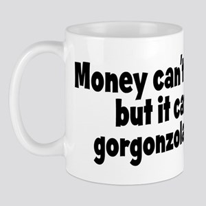 gorgonzola cheese (money) Mug