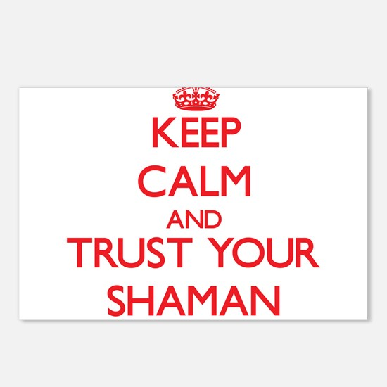 Keep Calm and trust your Shaman Postcards (Package