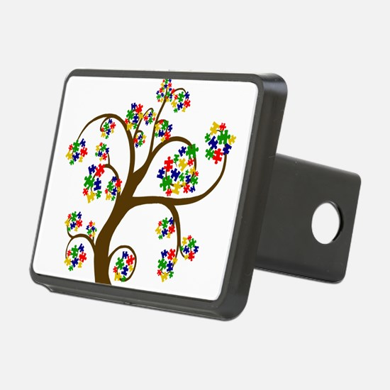 Puzzled Tree of Life Hitch Cover