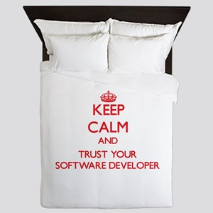 Keep Calm and trust your Software Developer Queen