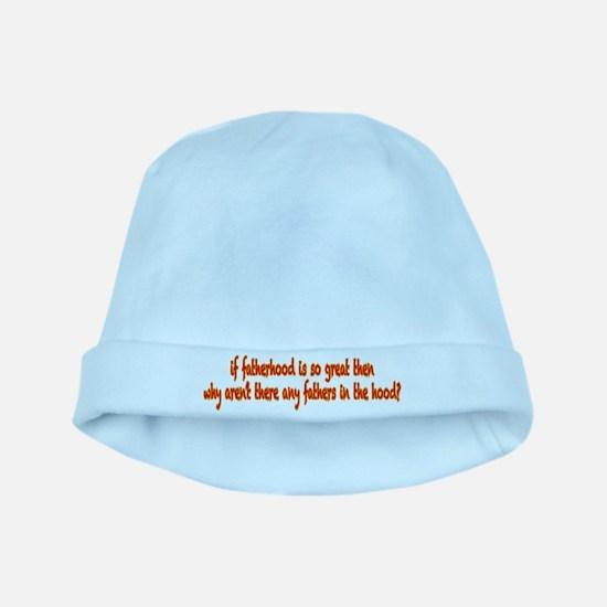 Fatherhood baby hat