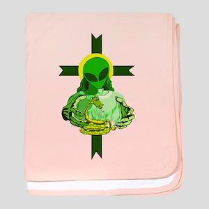 American Religion baby blanket