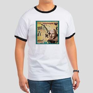 Shakespeare Ringer T T-Shirt