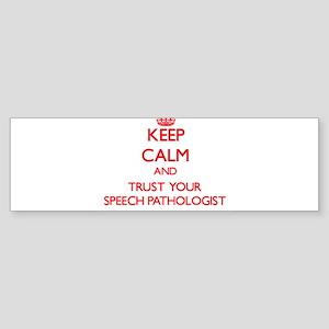 Keep Calm and trust your Speech Pathologist Bumper