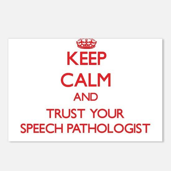 Keep Calm and trust your Speech Pathologist Postca