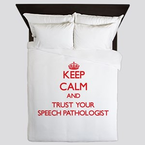 Keep Calm and trust your Speech Pathologist Queen