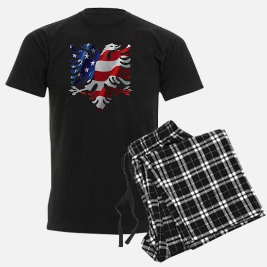 Albanian American Eagle Pajamas