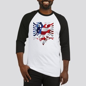 Albanian American Eagle Baseball Jersey