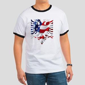 Albanian American Eagle Ringer T