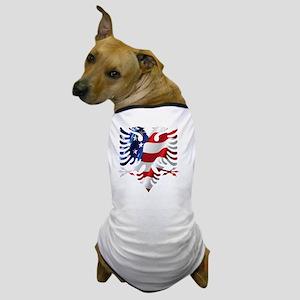 Albanian American Eagle Dog T-Shirt