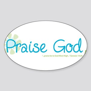 praise-god Sticker