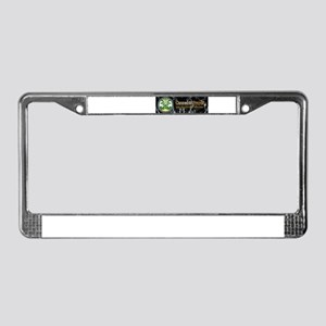 Cannabis Prayer License Plate Frame