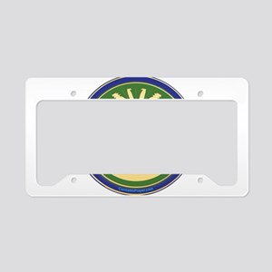 Cannabis Prayer License Plate Holder