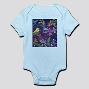 Hummingbird Mosaic Body Suit
