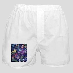 Hummingbird Mosaic Boxer Shorts
