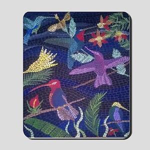Hummingbird Mosaic Mousepad
