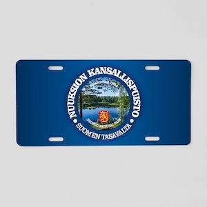 Nuuksio NP Aluminum License Plate