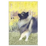 Keeshond in Aspen Large Poster