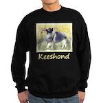 Keeshond in Aspen Sweatshirt (dark)
