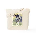 Keeshond in Aspen Tote Bag