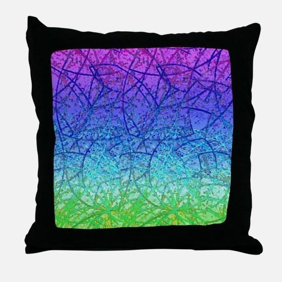Grunge Art 1 Throw Pillow