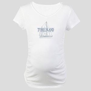 Tybee Island - Maternity T-Shirt