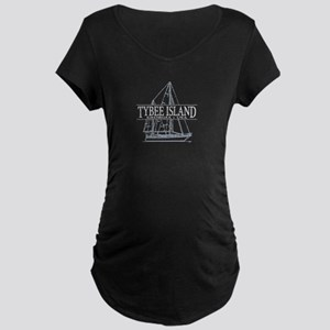 Tybee Island - Maternity Dark T-Shirt