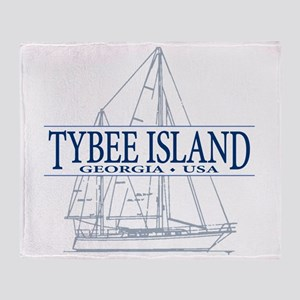 Tybee Island - Throw Blanket