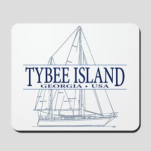 Tybee Island - Mousepad