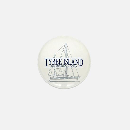 Tybee Island - Mini Button