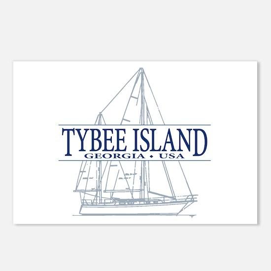 Tybee Island - Postcards (Package of 8)