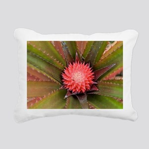 pink pineapple Rectangular Canvas Pillow